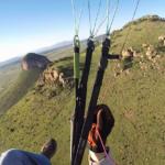 Ridge soaring over Mustang launch